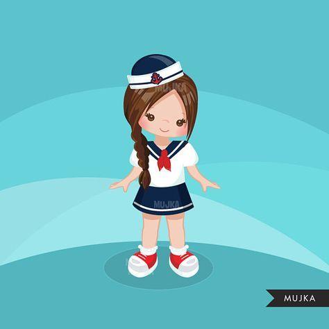 Quilt clipart reyna. Sailor little girl graphics