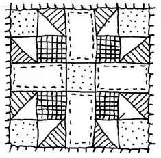 best sketches images. Quilt clipart sketch