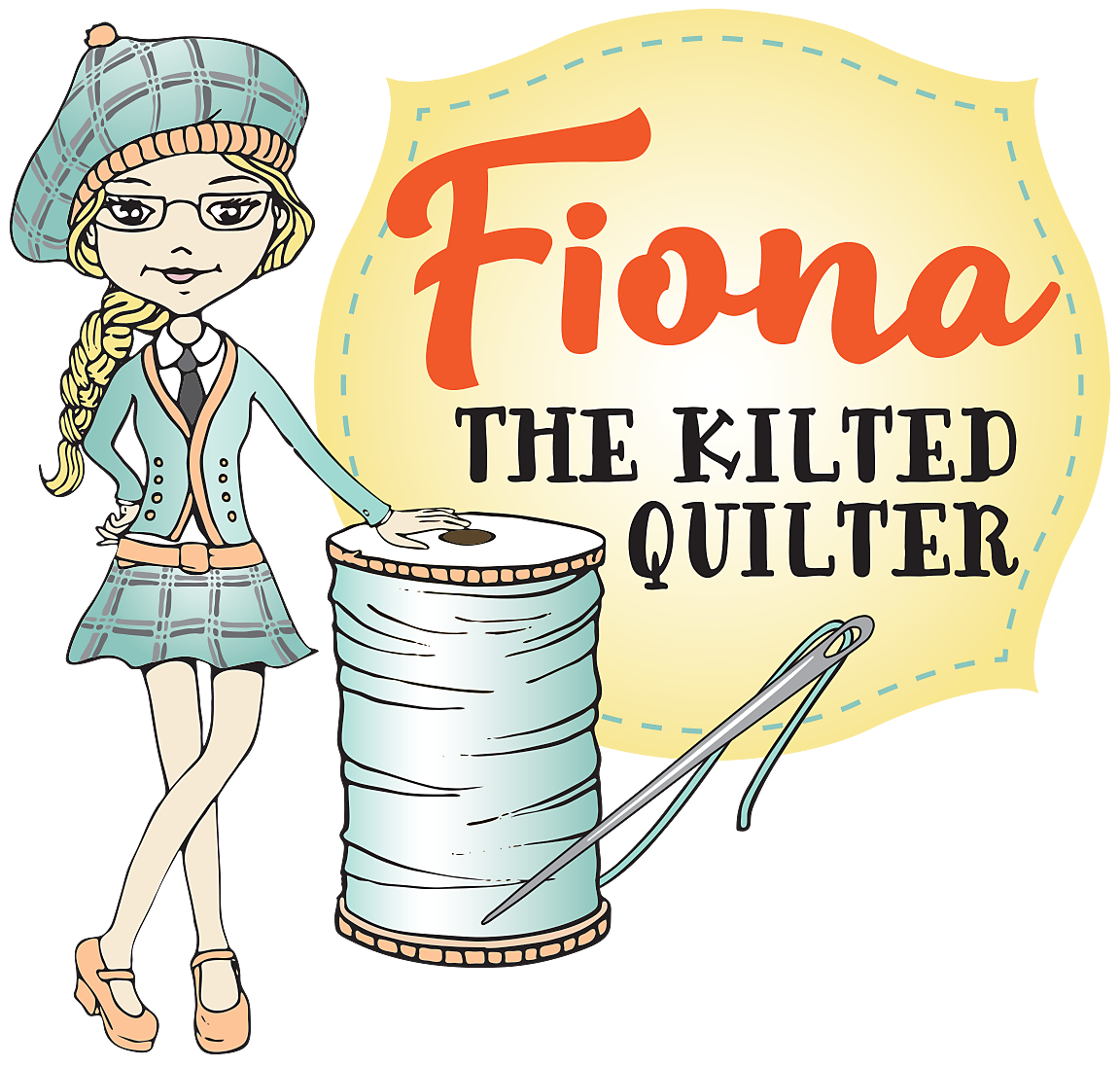 The kilted quilter my. Quilt clipart soft thing