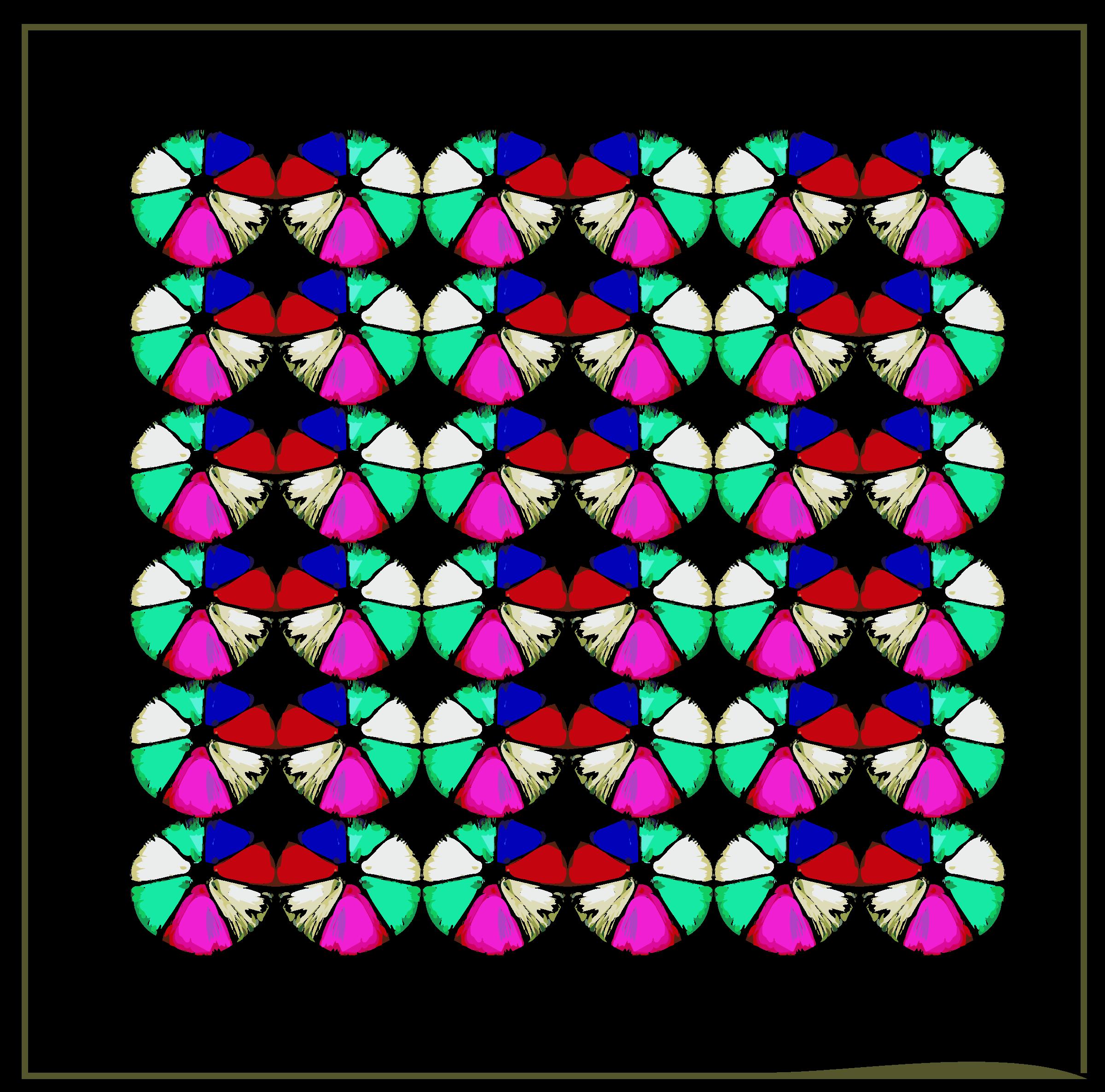 Quilt clipart vector. Art framed clipartpen
