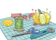 Free sewing clip art. Quilting clipart