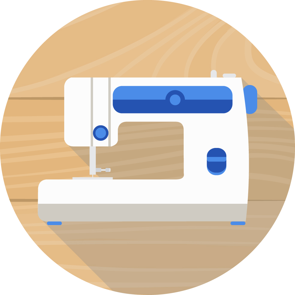 Sewing vacuum store in. Quilting clipart embroidery machine