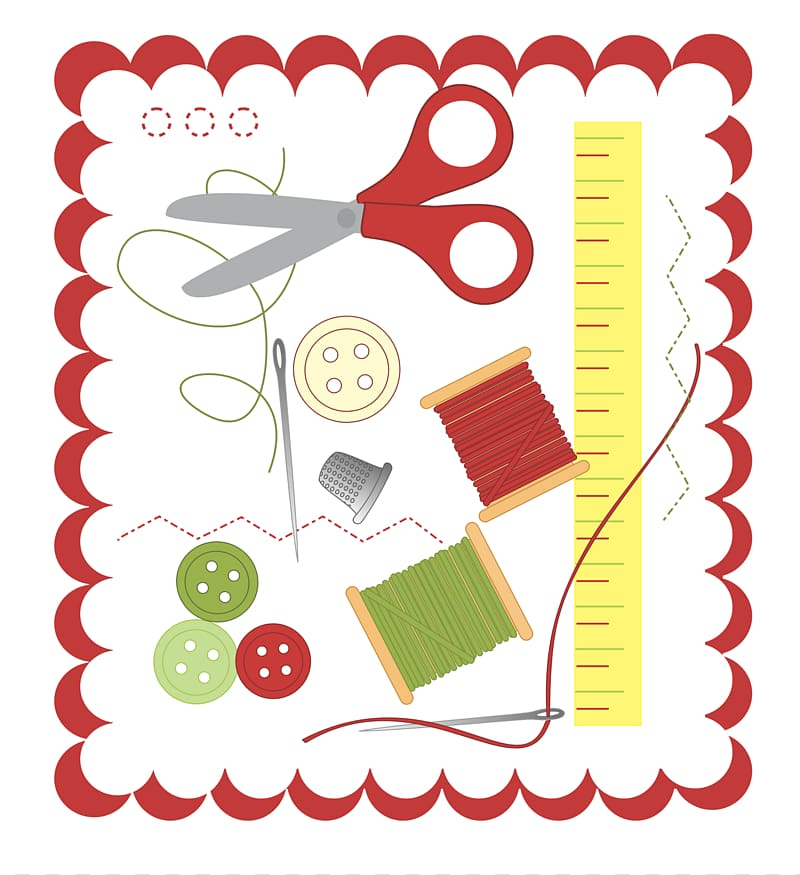 Sewing pincushion free transparent. Quilting clipart needlework