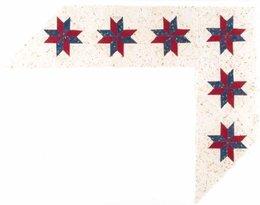 Quilting clipart quilt border. Download star clip art