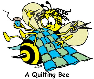 A craft cartoons sewing. Quilting clipart quilting bee