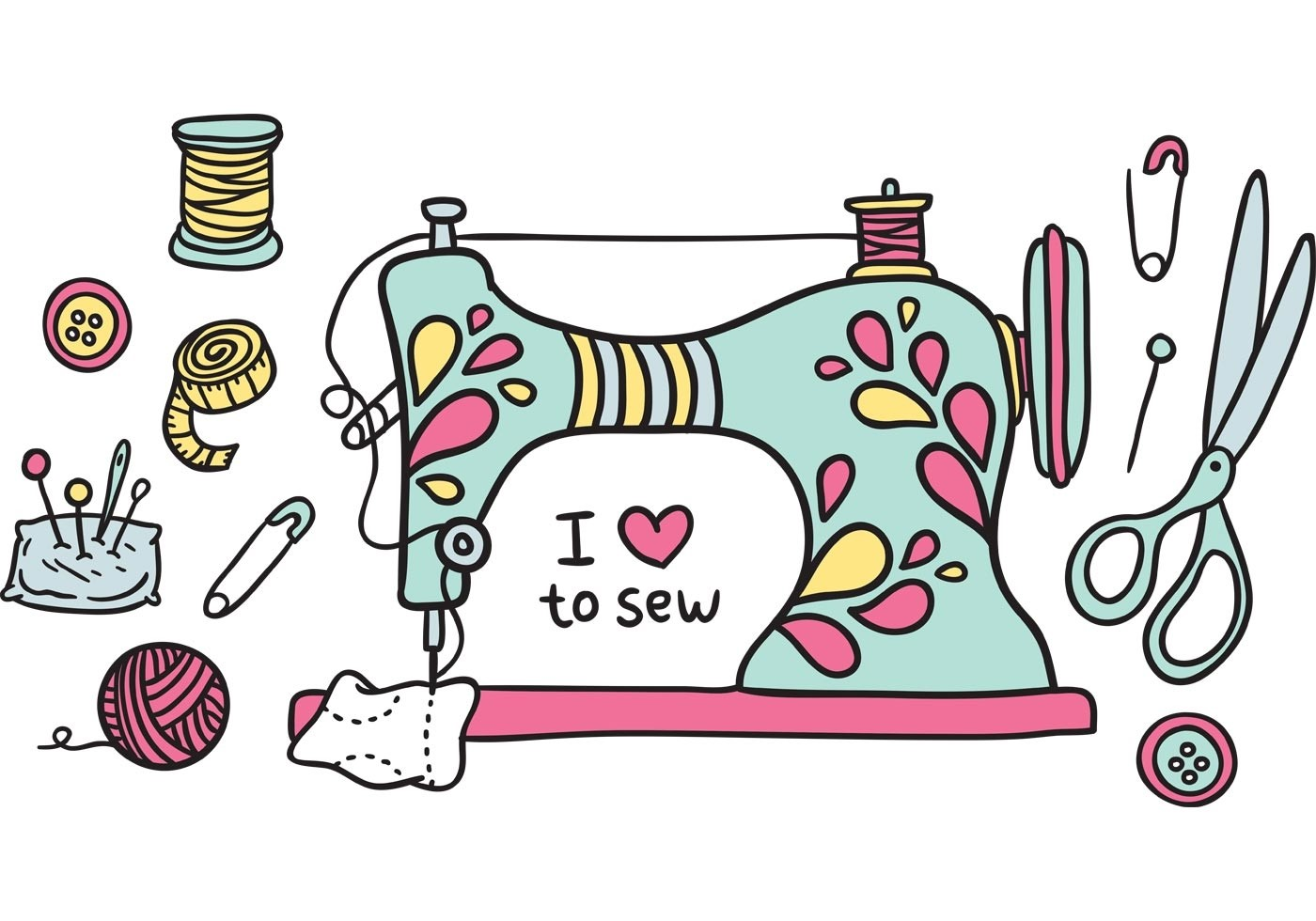 Quilting clipart sewing club. And beyond with mary