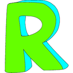 R clipart. Station