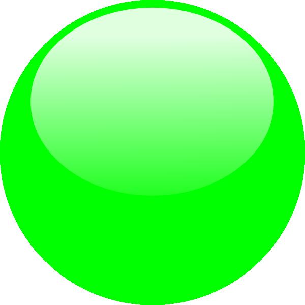 Bubble dark green clip. R clipart bubbled