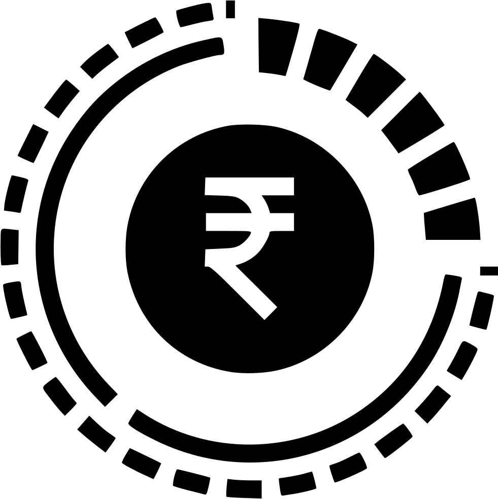 R clipart coin 1 rupee indian. Money currency finance business