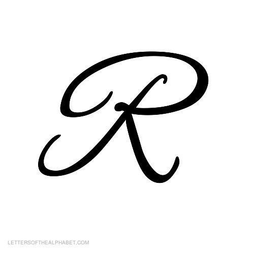 For the antlers i. R clipart cursive r