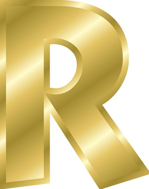 Dr odd letter work. R clipart fancy writing