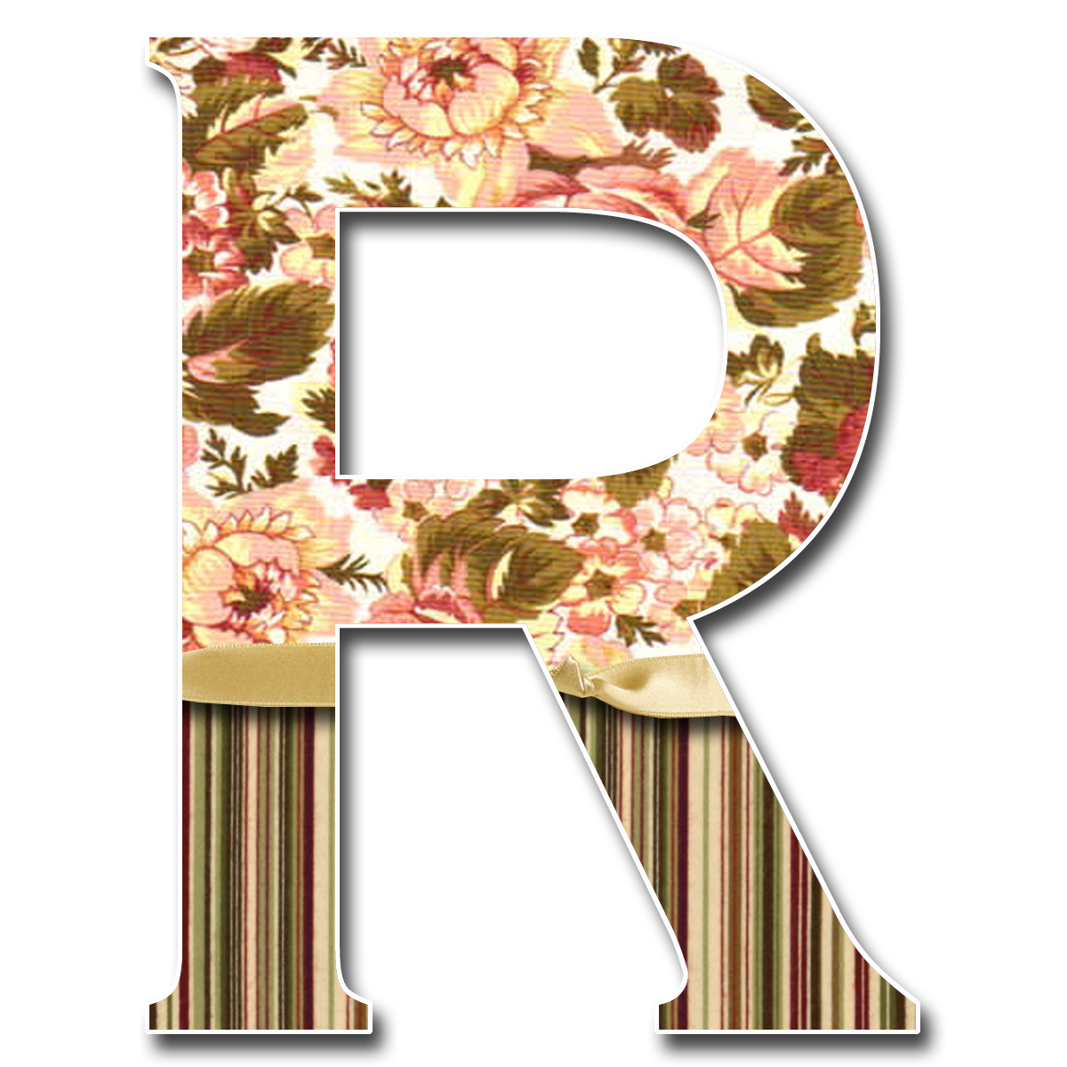 Name alphabet images pictures. R clipart flower