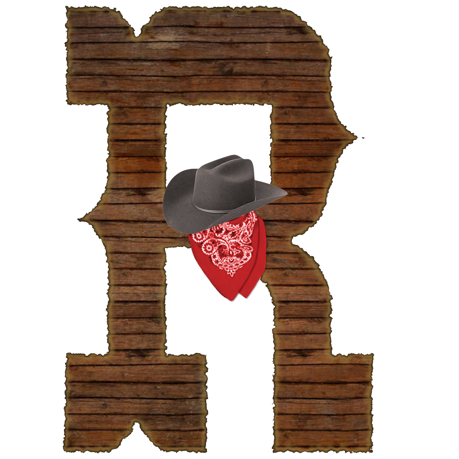 Alfabeto western numbers for. R clipart individual alphabet