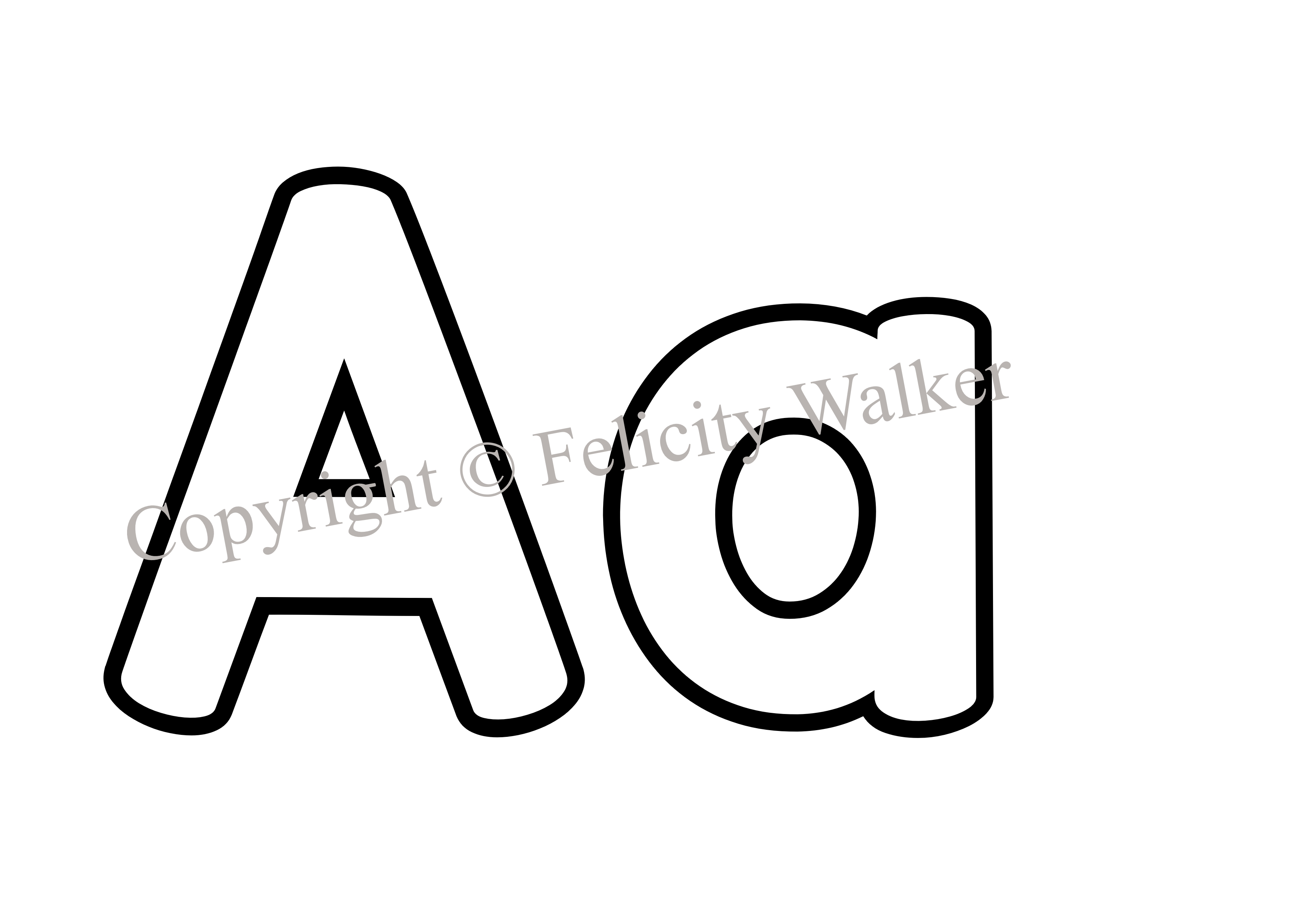 Picture . R clipart letter aa