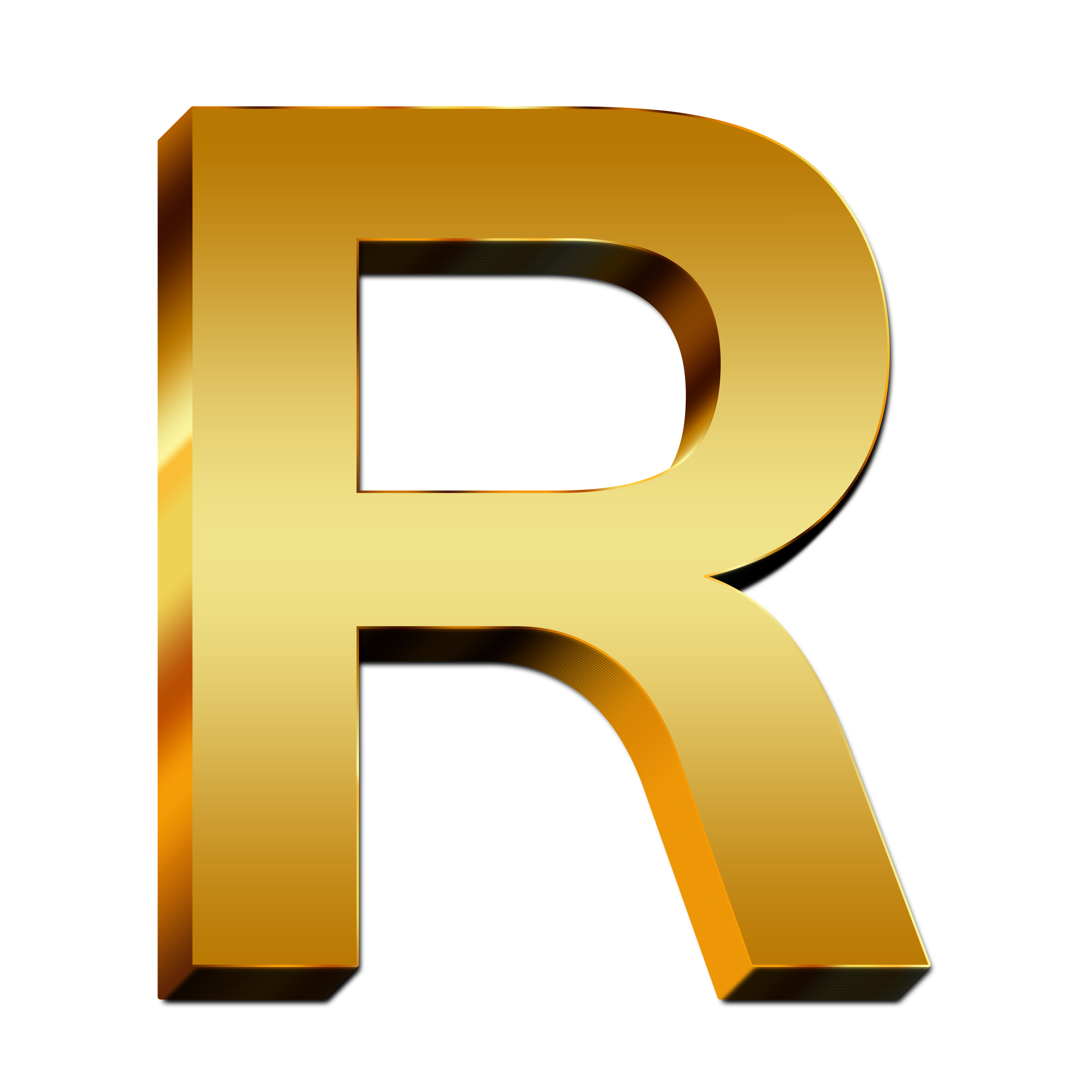 R clipart letter number. Capital free image