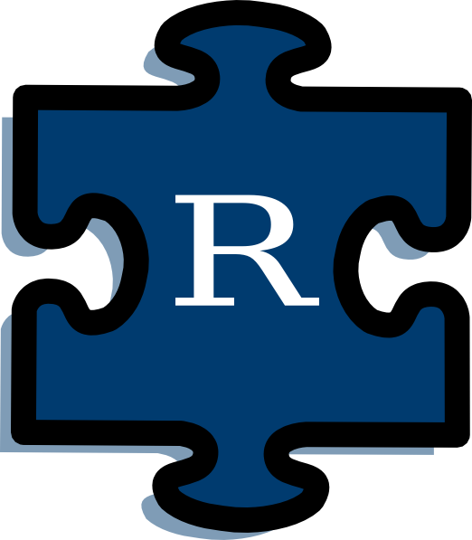 R clipart rated r. Puzzle clip art at