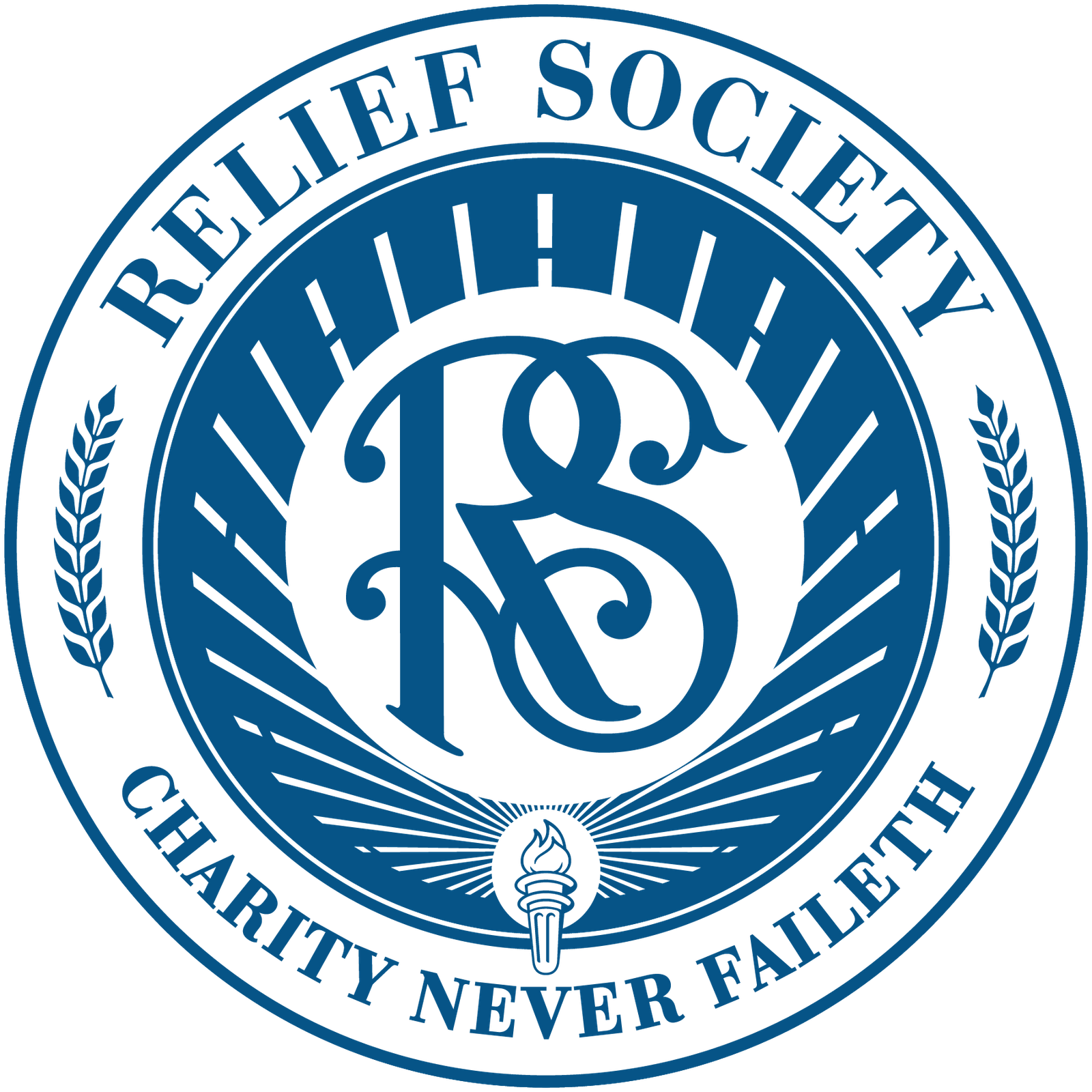 Dw decorative lds logo. R clipart relief society