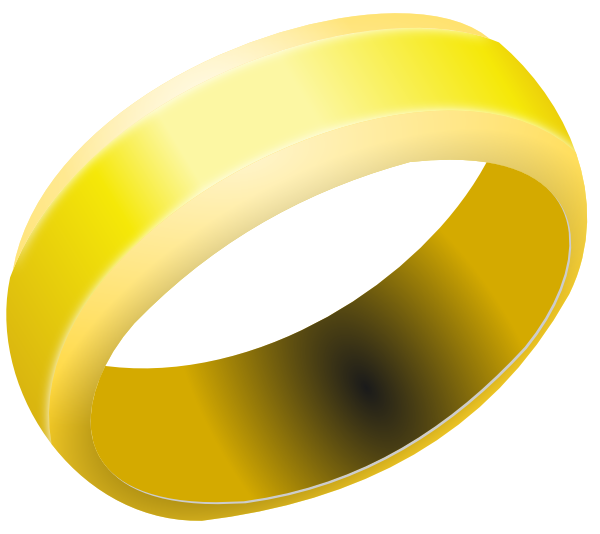 R clipart ring. Gold band clip art