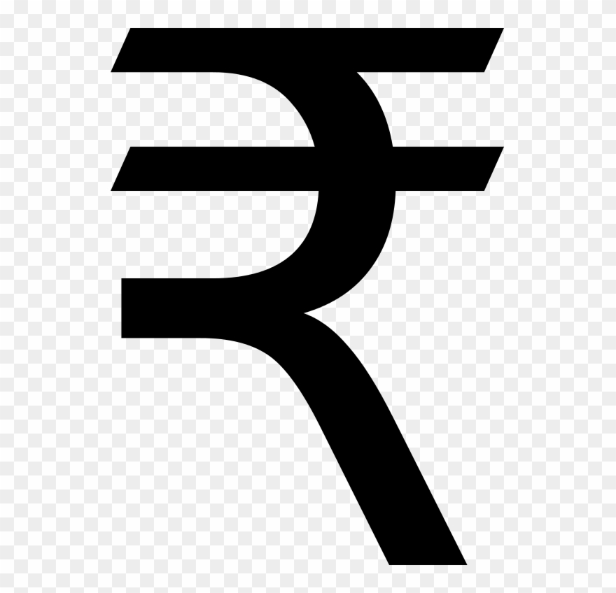 Indian rs images png. R clipart rupee symbol