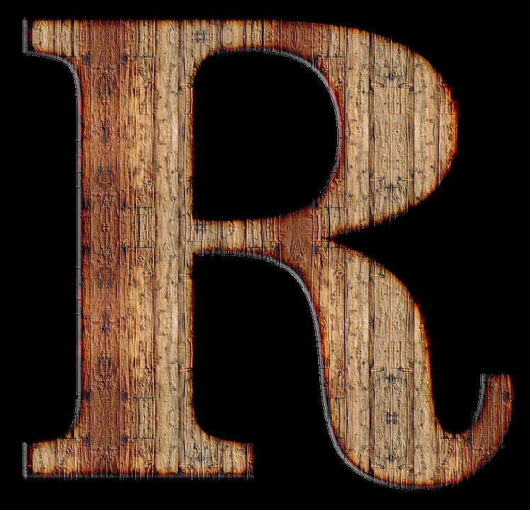 Letter png image purepng. R clipart transparent