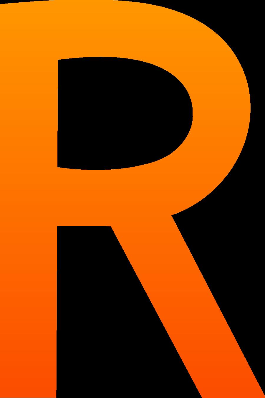 R clipart transparent. Yellow circle rectangle clip