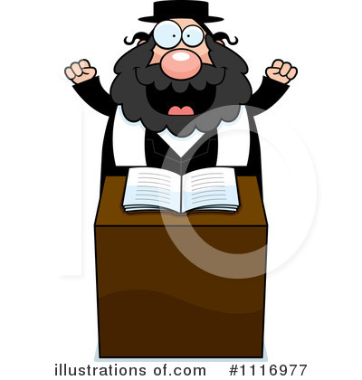 Illustration by cory thoman. Rabbi clipart