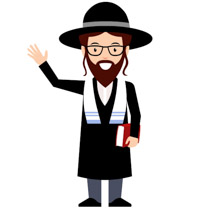 Rabbi clipart. Free middle east clip