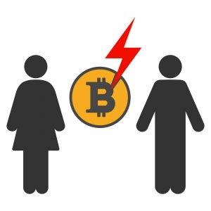 Rabbi clipart person israel. Bitcoin divorce presents new