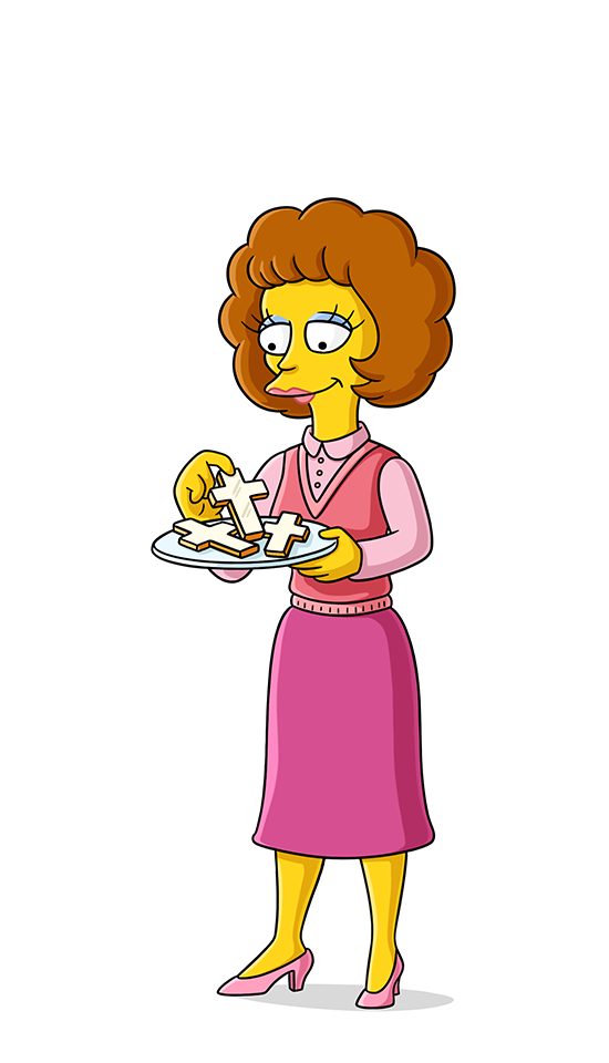 Honoring marcia deceased event. Rabbi clipart simpsons character