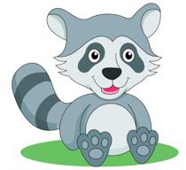 Free raccoon clip art. Racoon clipart