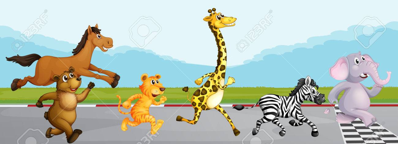 clipartlook. Race clipart animal race