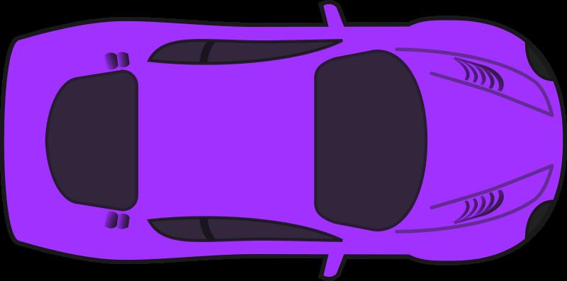 Race clipart animated. Car top view panda