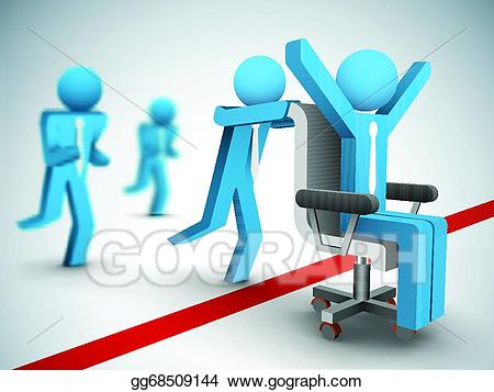 Eps illustration competition vector. Race clipart business