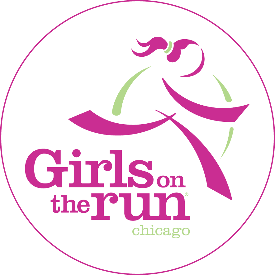 Girls on the chicago. Race clipart charity run