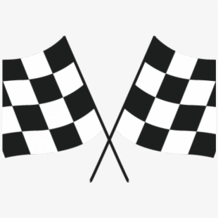Flag car png free. Race clipart checkerboard