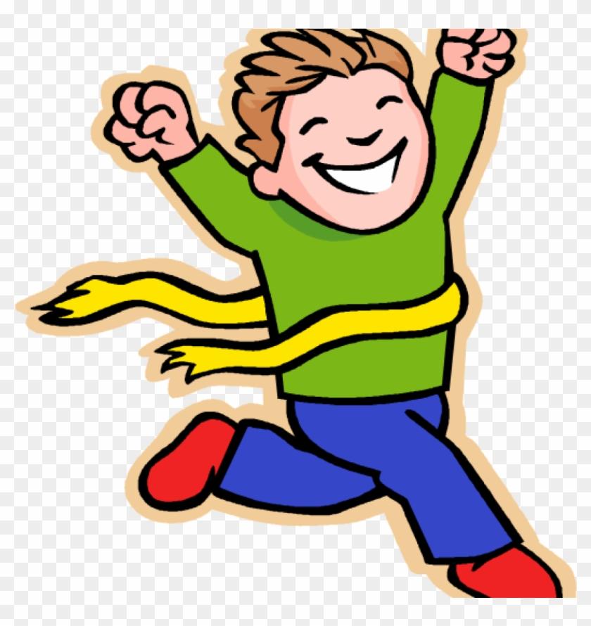 Race clipart child run. Running boy clip art