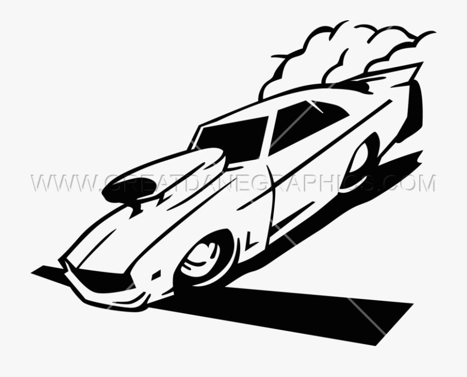 Car racing production ready. Race clipart drag race