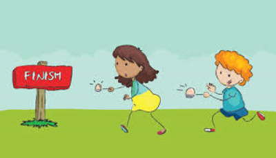 Race clipart egg spoon race. Download free png easter