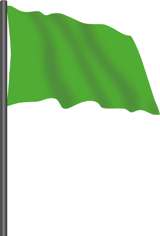 Race clipart end race. Motor racing flag green