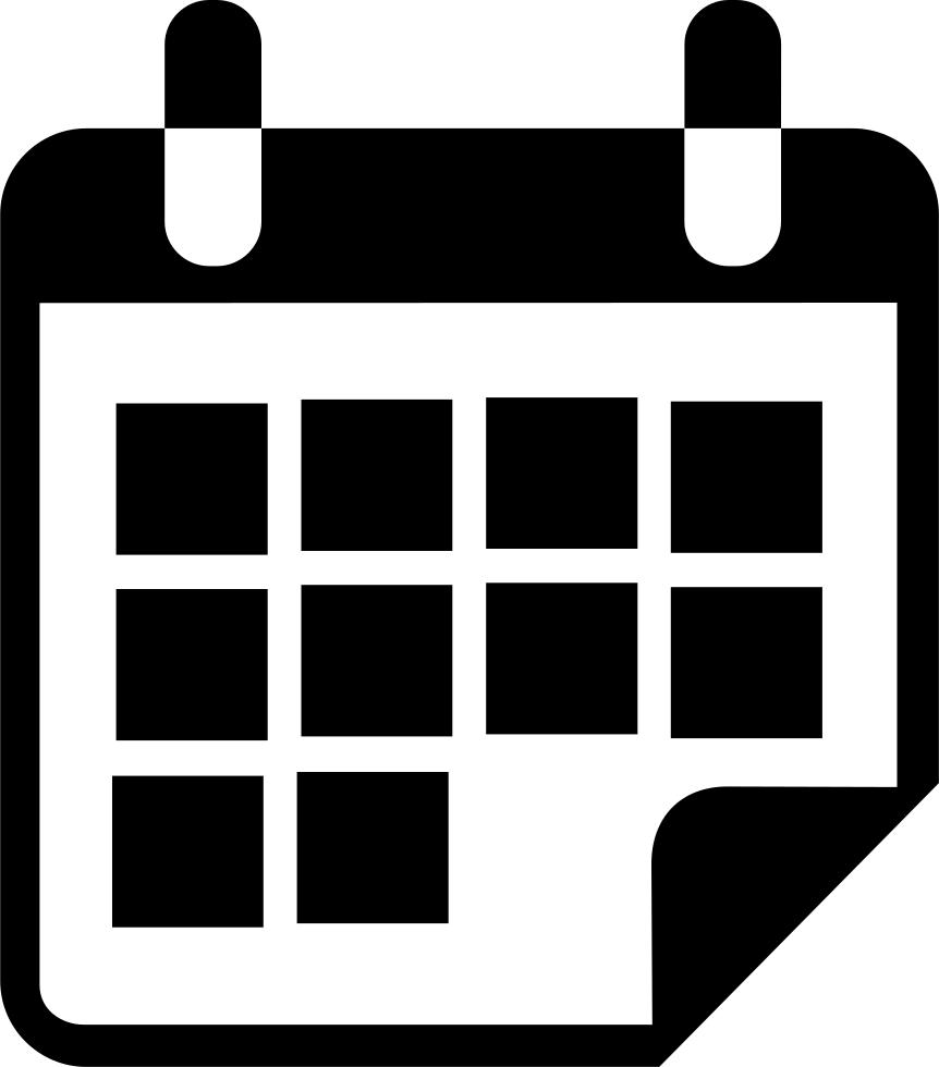 Calendar vector icon gallery. Race clipart fitnessgram