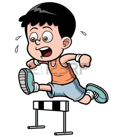 Image result for children. Race clipart hurdler
