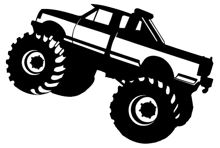 Trucks free images at. Race clipart monster truck tire