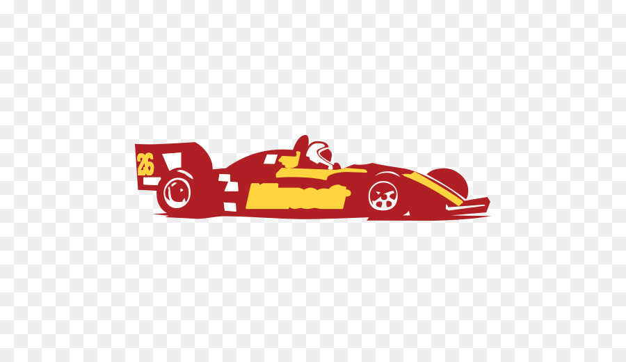 Race clipart motorsport. Font racing car red