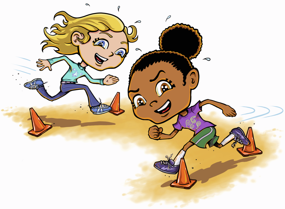 Image result for running. Race clipart obstacle race