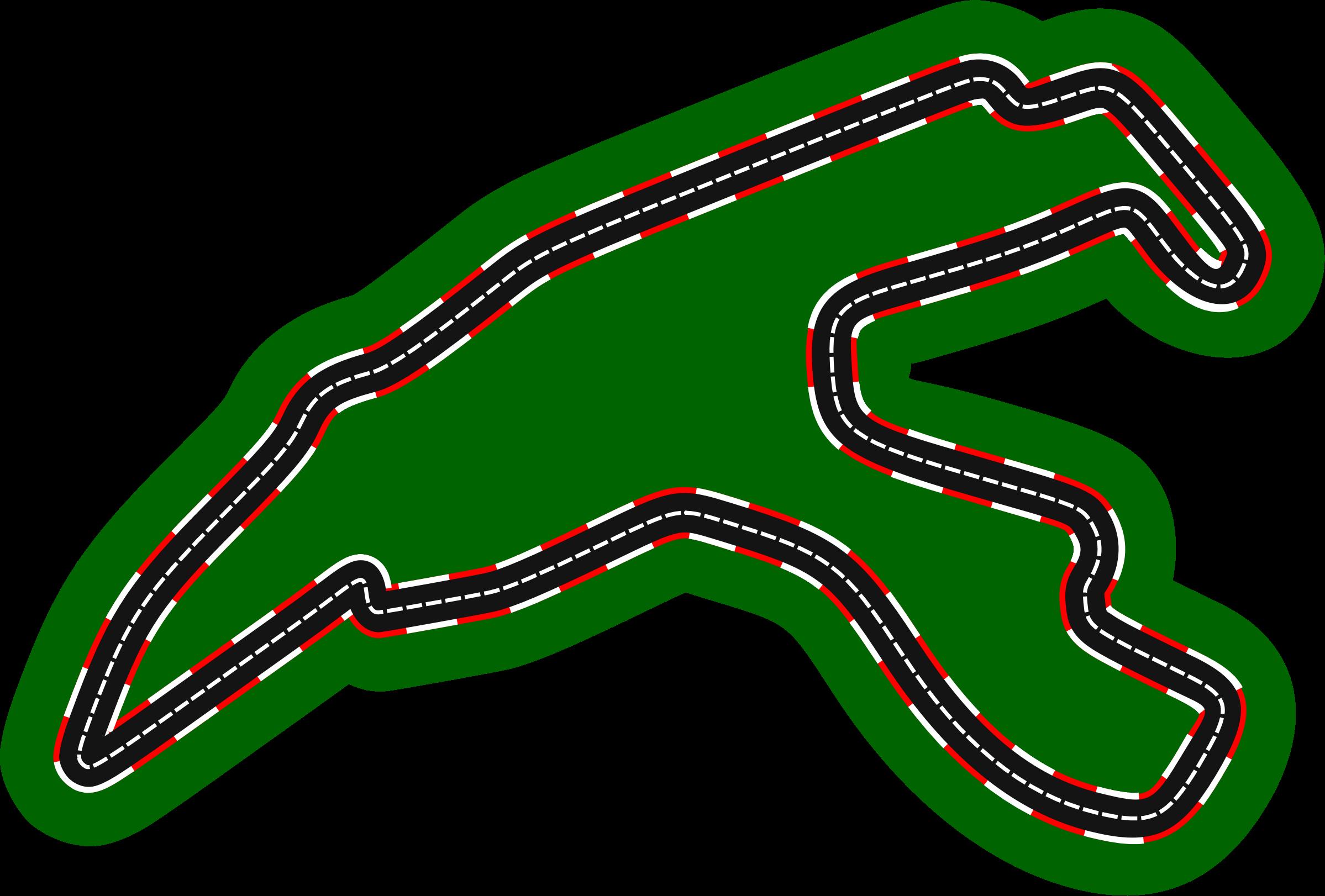 Race clipart racecourse. F circuits circuit de