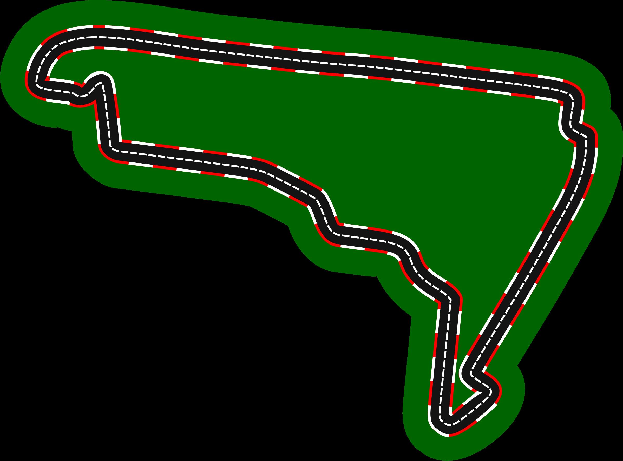 Race clipart racecourse. F circuits aut dromo
