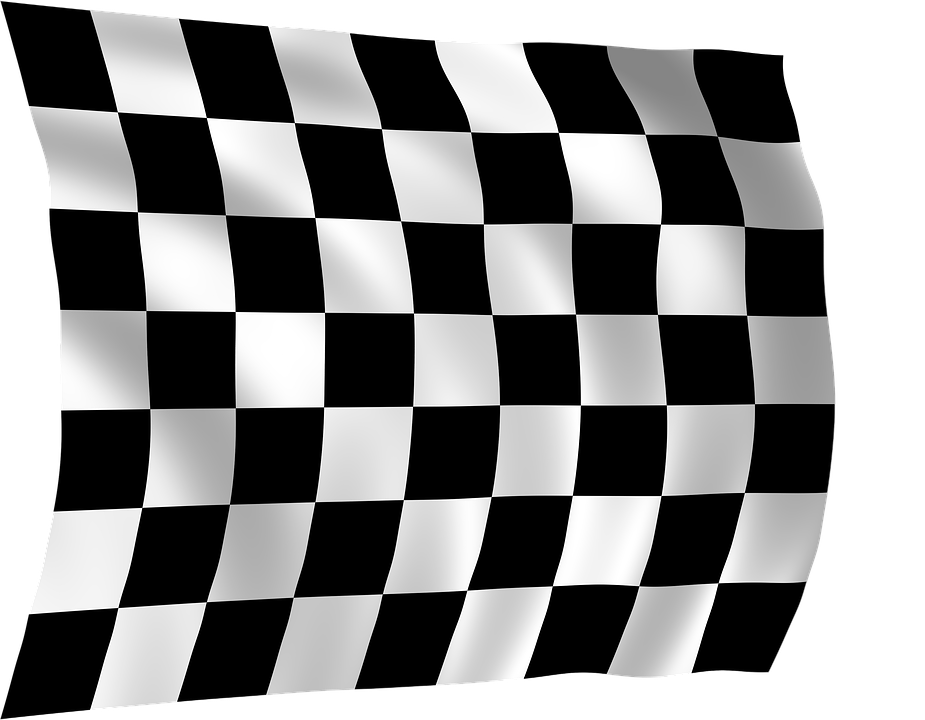Race clipart racing banner. Flag shop of library