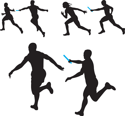 Race clipart relay. Free cliparts download clip