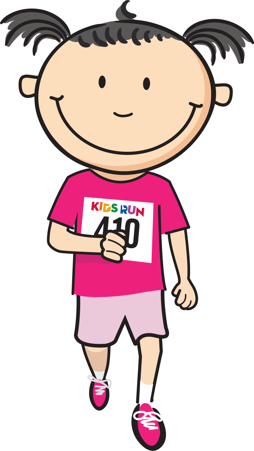 Results kids run independent. Race clipart result