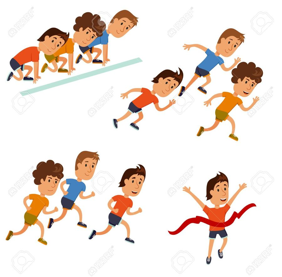 Race clipart road run. Download running cartoon clip